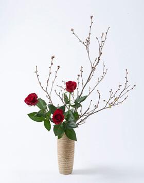 3月のいけばな 瓶花